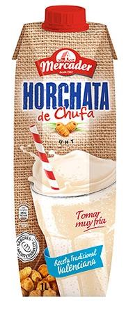 Horchata de Chufa UHT (Mercader)