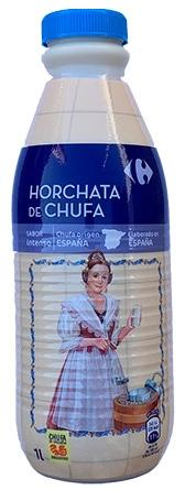 Horchata de chufa Carrefour (botella)