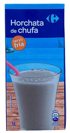 Horchata de chufa Carrefour (tetra-brik)