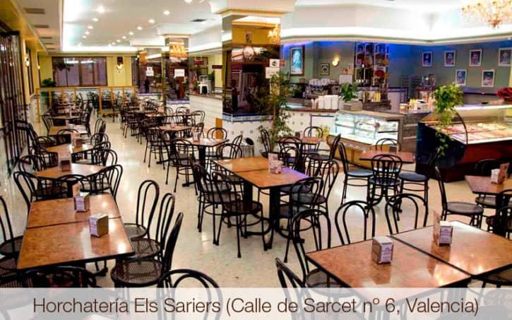 Horchatería Els Sariers (Calle de Sarcet nº 6, Valencia)