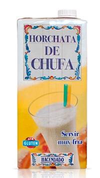 """Horchata de chufa"" fabricada por DAFSA"