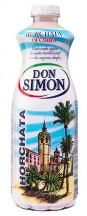 Horchata de chufa Don Simón