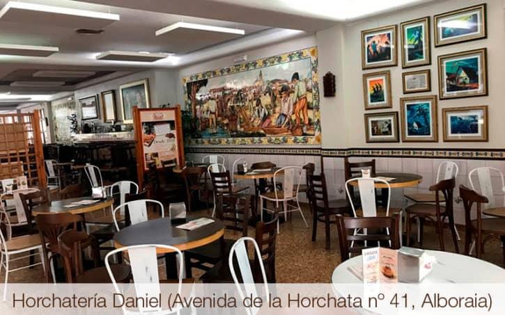 Horchatería Daniel (Avenida de la Horchata nº 41, Alboraia)