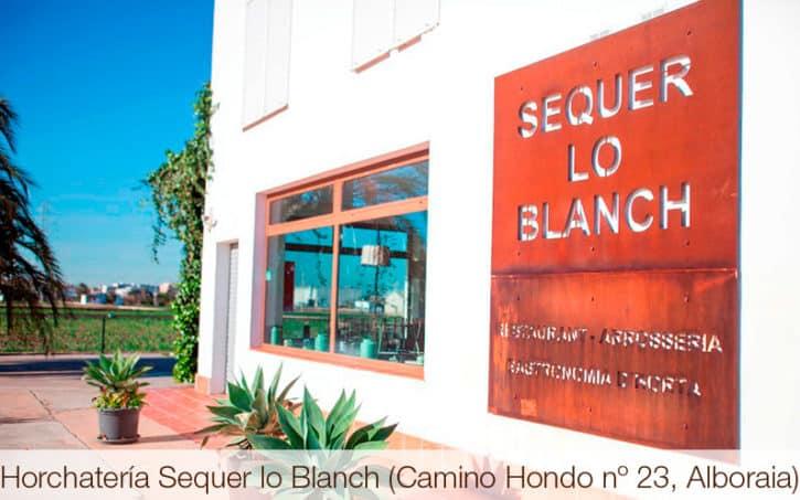 Horchatería Sequer lo Blanch (Camino Hondo nº 23, Alboraia)