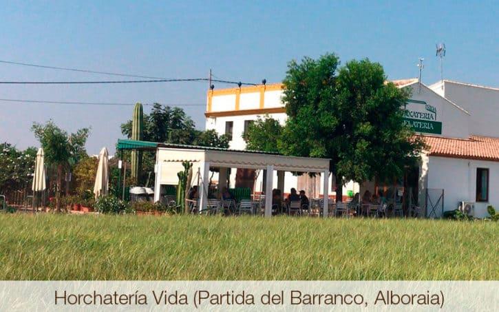 Horchatería Vida (Partida del Barranco, Alboraia)