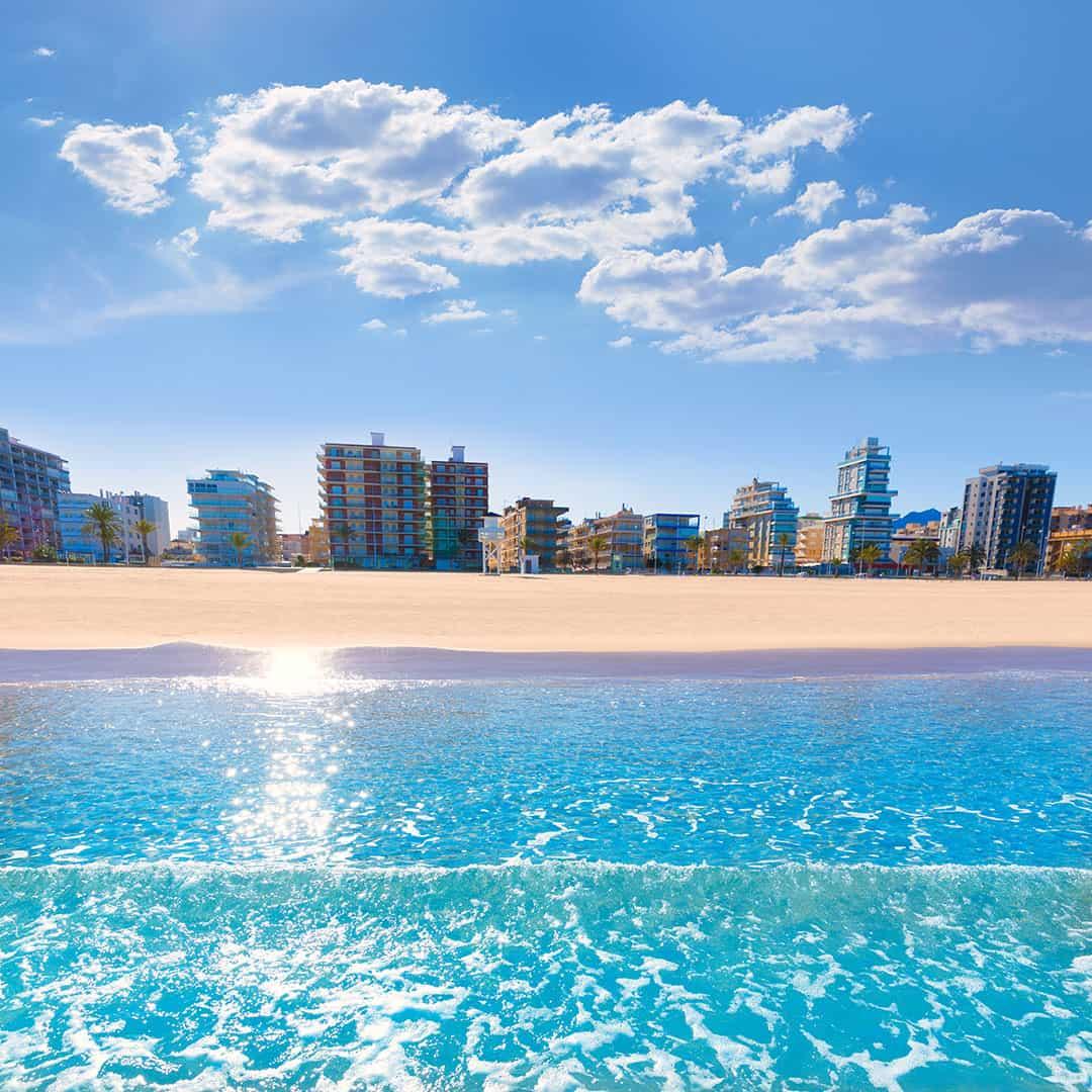 La Playa de Valencia (España)
