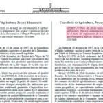 Reglamento de la Denominación de Origen Protegida Chufa de Valencia